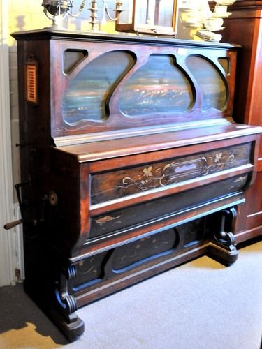 Musical Orchestrion | Period: 1886 | Make: Welte Mignon | Material: Walnut