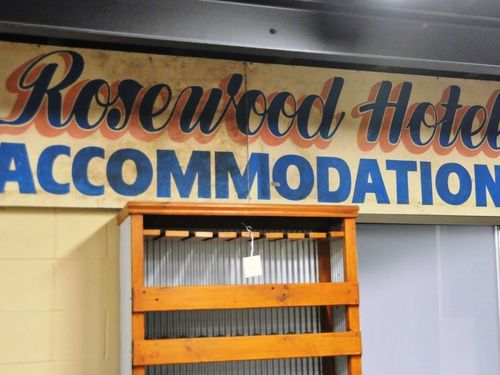 Sign- Rosewood Hotel | Period: c1950s