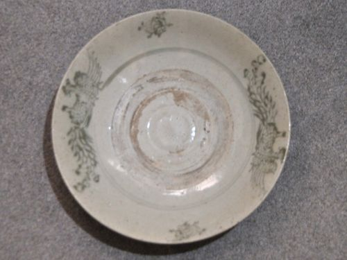 Annamese Oriental Plate | Period: Late 15th- early 16th century (Ming) | Material: Porcelain