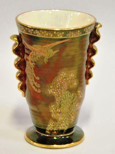 Crown Devon Vase | Period: c1930s | Make: Crown Devon | Material: Porcelain