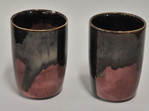 4 Daisy Ware Goblets | Period: 1962-67 | Make: Irene Daisy Lucas- Daisy Ware. | Material: Pottery