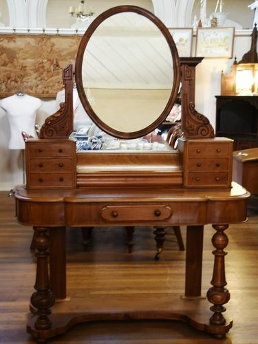 Duchess Dressing Table | Period: Victorian c1880 | Material: Mahogany