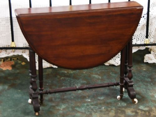 Sutherland Table | Period: Victorian c1870 | Material: Mahogany