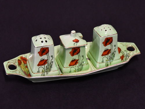 Royal Winton Cruet | Period: 1934-50 | Make: Royal Winton | Material: Porcelain