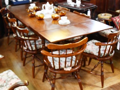 Set 8 Dining Chairs | Period: c1970s