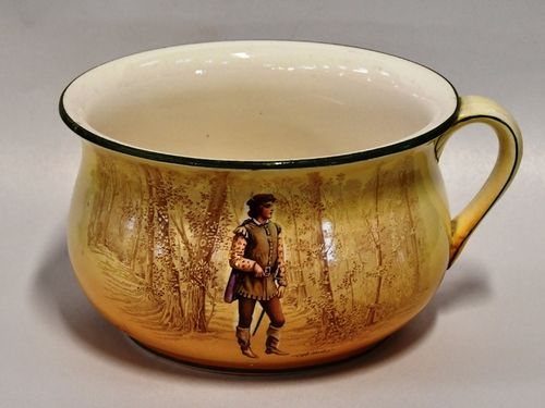 Royal Doulton Chamber Pot | Period: c1930s | Make: Royal Doulton | Material: Porcelain