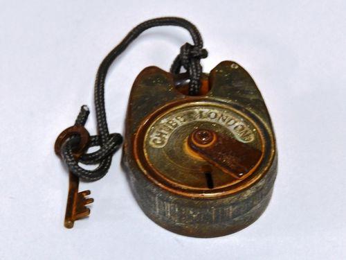 Padlock & Key | Period: c1920s | Make: Chubb