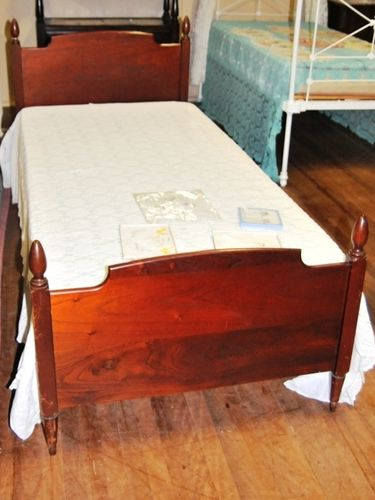 Cedar Single Bed | Period: c1930 | Material: Timber