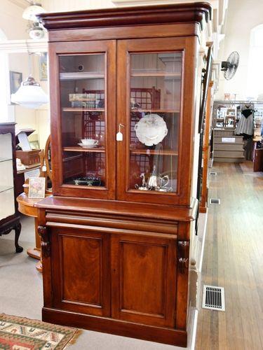 Cedar Double-Height Bookcase   Period: Victorian 1880   Material: Cedar