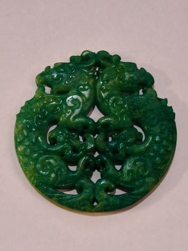 Jade Pendant | Period: Vintage | Material: Jadeite