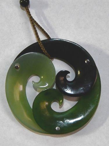 Greenstone Pendant | Period: Vintage | Material: Jadite
