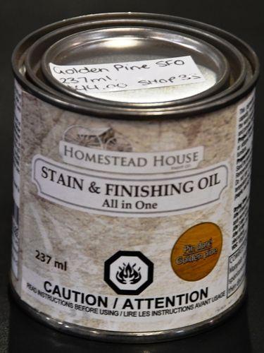 Stain & Finishing Oil | Make: Homestead House