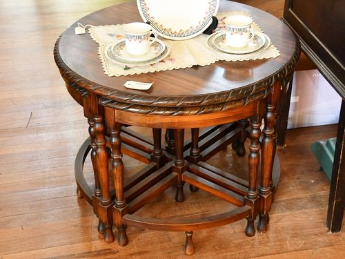 Nest of Tables | Period: 1952 | Material: Pine