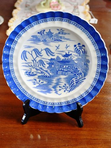 Copeland Cabinet Plate   Period: Victorian   Make: Copeland   Material: Porcelain