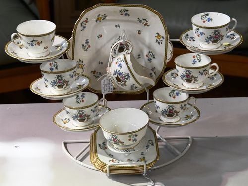 Aynsley Tea Set | Period: c1920s | Make: Aynsley | Material: Porcelain