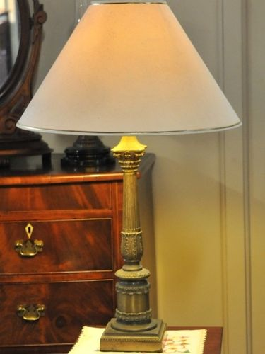 Brass Table Lamp | Period: Vintage | Material: Brass