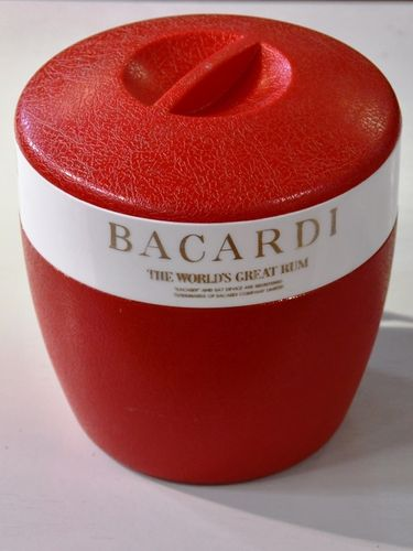 Bacardi Ice Bucket | Period: c1970s | Make: Bacardi Rum Company | Material: Plastic