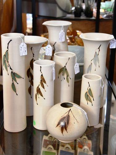 Coolangatta Pottery Vases | Period: 1990s | Make: Coolangatta Pottery | Material: Pottery