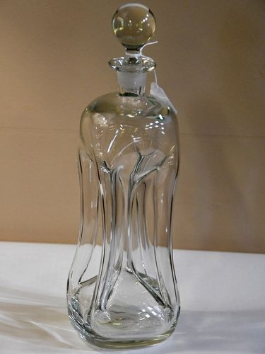 Holmegaard Decanter | Period: 1970s | Make: Holmegaard | Material: Glass