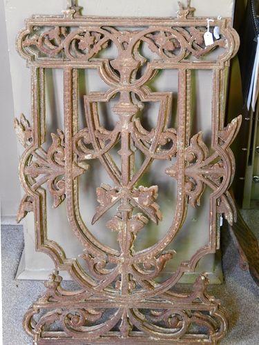 Iron ballustrading | Period: Victorian 1880s | Material: Cast iron
