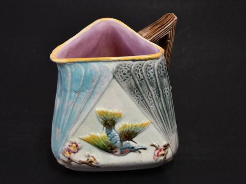 Majolica Jug   Period: Georgian c 1780   Make: Copeland   Material: Pottery