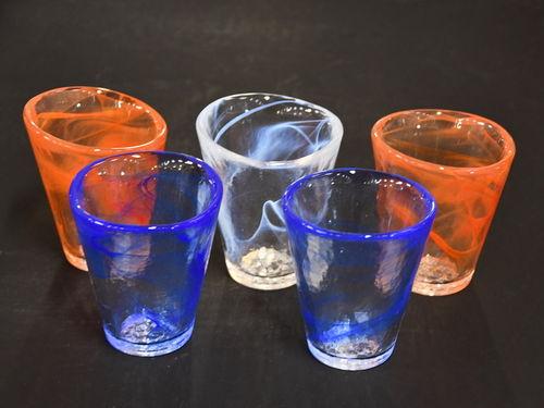 Kosta Boda Tumblers   Period: c1990s   Make: Kosta Boda   Material: Glass