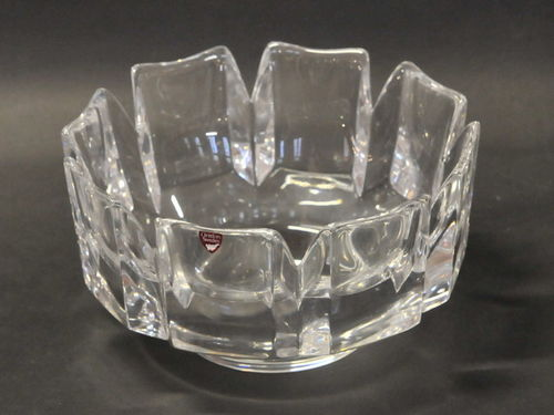Orrefors Bowl | Period: c1980 | Make: Orrefors | Material: Crystal