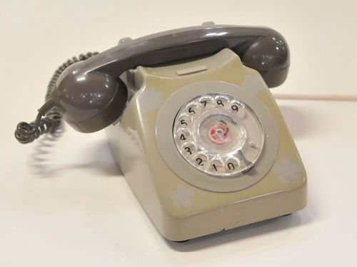 Desk Telephone | Period: c1970 | Make: GEC | Material: Plastic and metal