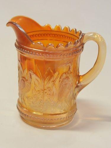 Carnival Glass Jug | Period: c1930 | Material: Carnival glass