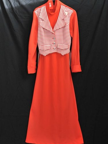 Hostess Dress | Period: 1970s | Make: Norman Hartnell | Material: Jersey