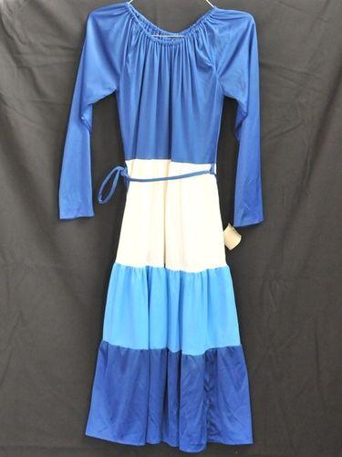 Peasant Dress | Period: 1970s | Material: Jersey