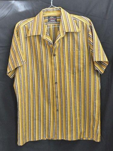 Striped Men's Shirt   Period: 1970s   Make: Pelaco   Material: Polyester