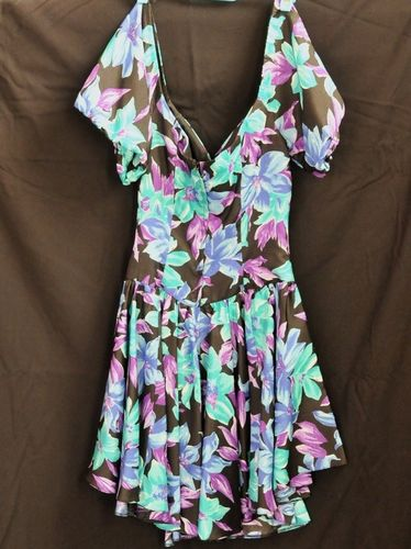 Disco Dress   Period: 1980s   Material: Polyester