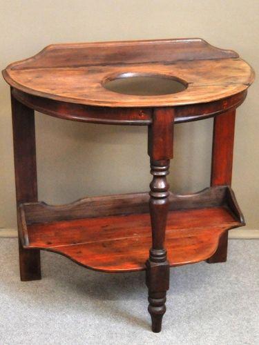 Colonial Washstand | Period: c1890 | Material: Cedar