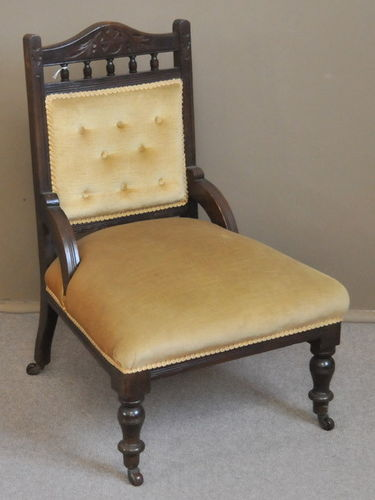 Parlour Chair | Period: Edwardian | Material: Pine