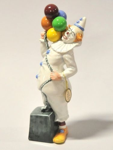 Royal Doulton Figurine  'Balloon Clown' | Period: c1985 | Make: Royal Doulton | Material: Porcelain