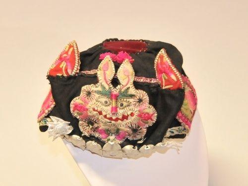 'Yugar' Baby Cap | Period: c1900 | Make: Wieger | Material: Various fabrics