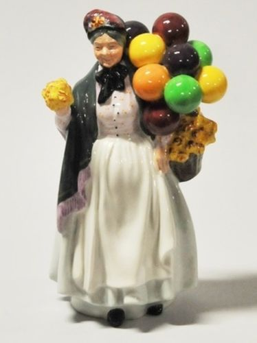 Royal Doulton Figurine 'Biddy Penny Farthing' | Period: c1985 | Make: Royal Doulton | Material: Porcelain