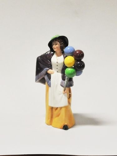 Royal Doulton Figurine 'Balloon Lady' | Period: 1985 | Make: Royal Doulton | Material: Porcelain