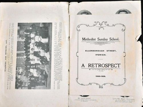 Souvenir Booklet | Period: 1908 | Material: Paper