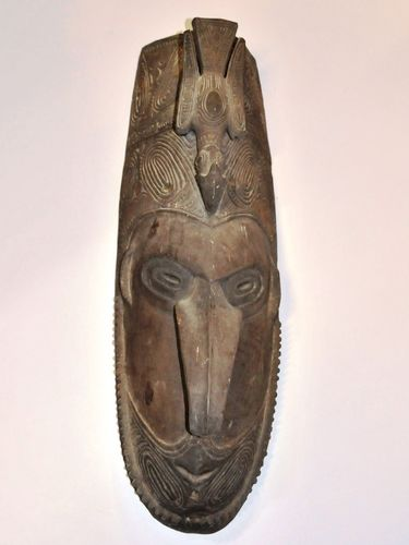 Ceremonial Dance Mask | Period: Pre 1950 | Material: Timber