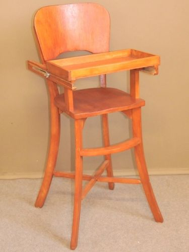 Child's High Chair | Period: Retro c1960 | Material: Timber