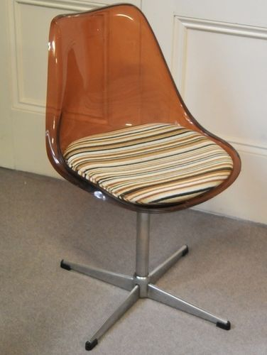 Retro Swivel Chair | Period: Retro c1965 | Material: Acrylic