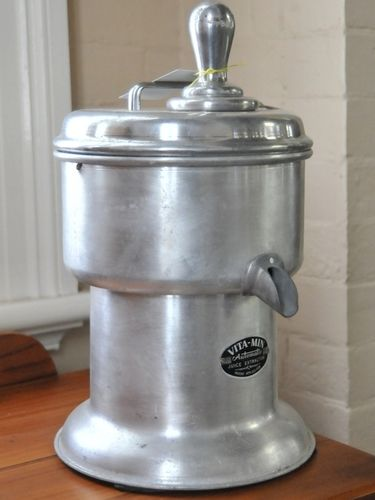 Juice Extractor | Period: Retro c1970 | Make: 'Vita Min' | Material: Aluminium