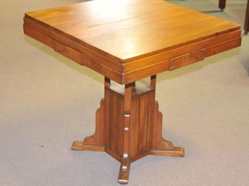Art Deco Card Table | Period: Art Deco | Material: Various timbers