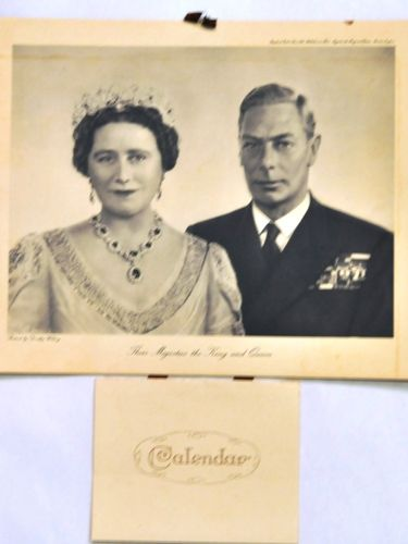 Royalty Photo & Calendar | Period: 1949 | Make: Raphael Tuck & Sons | Material: Paper print