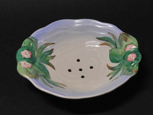 Clarice Cliff Lettuce Dish | Period: c1930 | Make: Clarice Cliff | Material: Porcelain