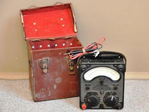 Volt Meter | Period: Between Wars | Make: Universal Avometer | Material: Bakelite
