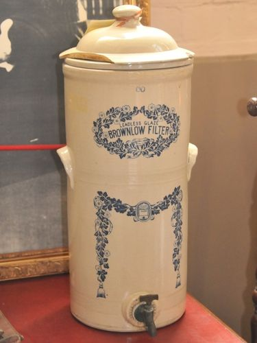 Brownlow Water Filter | Period: Victorian | Make: Brownlow | Material: Pottery