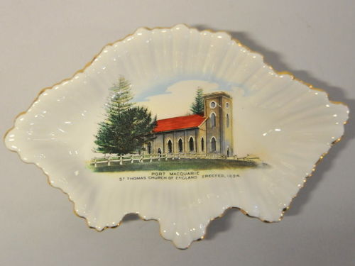 Shelley Port Macquarie Dish | Period: c1950s | Make: Shelley | Material: Porcelain